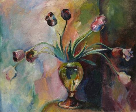Arthur Beecher Carles (1882-1952), Tulips, 1918