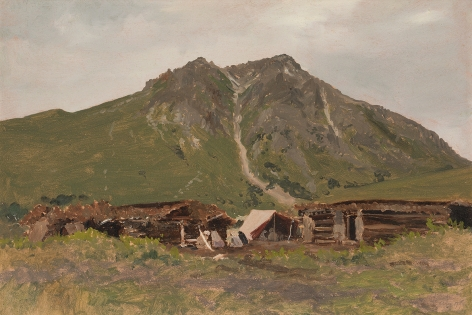 Lockwood de Forest (1850-1932), Burzi Mountains, Kashmir