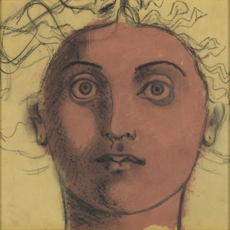 John D. Graham (1881-1961), Untitled (Head of Medusa), circa 1950s