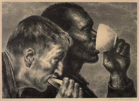 Joseph Hirsch (1910-1981), Banquet, 1945