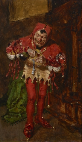 William Merritt Chase (1849-1916), The Jester, 1875
