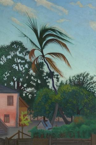 Joseph Stella (1877-1946), Palm Tree, Barbados, 1939