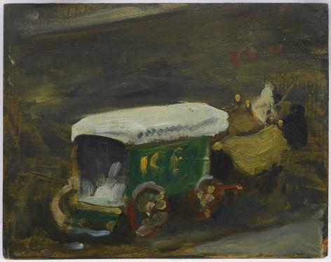 Robert Henri (1865-1929), Ice Wagon in Winter, circa 1900-1903