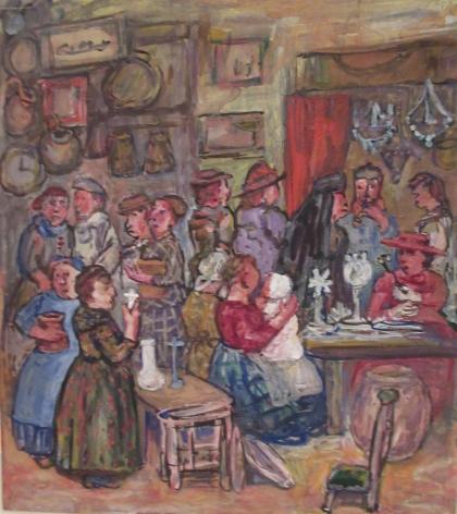Edith Dimock (1876-1955), The Flea Fair, Paris I
