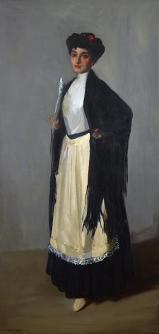Robert Henri (1865-1929), Modiste (Spanish Girl, Madrid), 1906