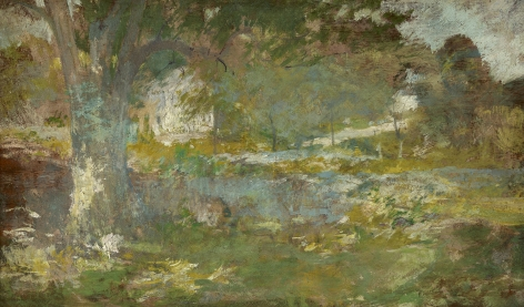 John Henry Twachtman (1853-1902), Landscape, 1890s