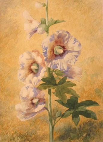 John Henry Hill (1839-1922), Hollyhock, 1873