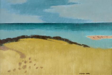 Herman Maril (1908-1986), Gulls on the Bar, 1985