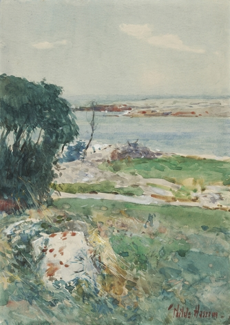 Frederick Childe Hassam (1859-1935) , Summer Afternoon, Appledore, mid-1890s