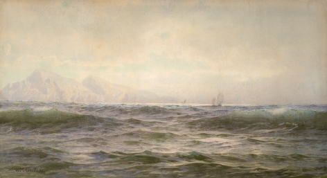 William Trost Richards (1833 – 1905), Off the Island of Arran, 1894