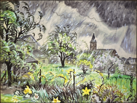 Charles Ephraim Burchfield (1893-1967), Early Spring, May, circa 1948