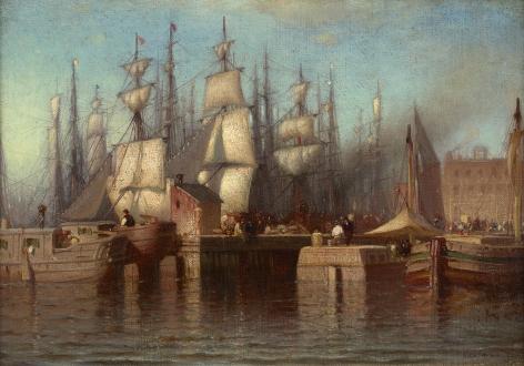 ships at dock