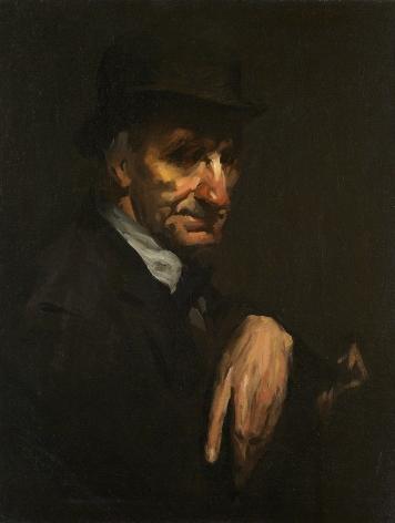 George Wesley Bellows (1882-1925), The Black Derby, 1905