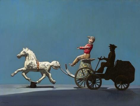 Priscilla Warren Roberts (1916-2001), The Race, circa 1960s