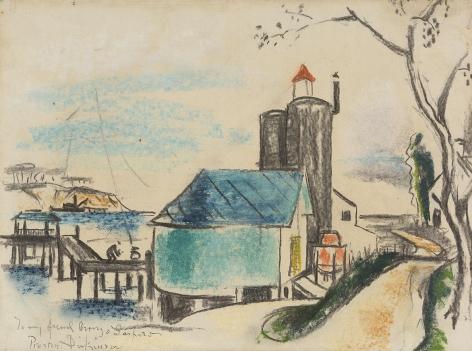 Preston Dickinson (1891-1930), Long Island, circa 1929-1930