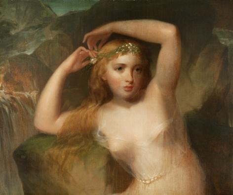 Thomas Sully (1783‑1872), Sea Nymph, circa 1830-1840s