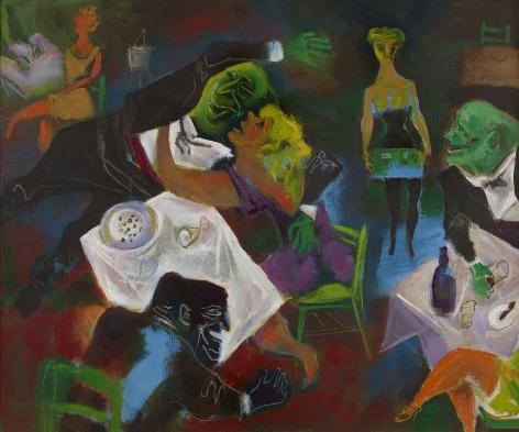 William Gropper (1897-1978), Night Club, 1973