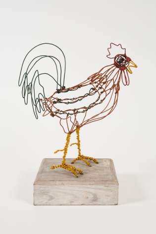 Hayward Oubre (1916-2006), Proud Rooster, circa 1956