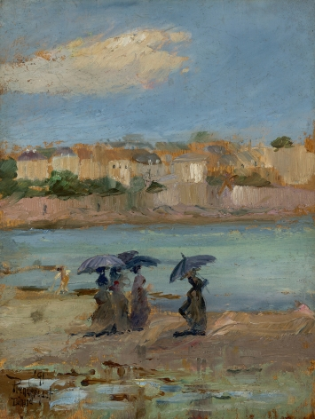 Maurice Brazil Prendergast (1858-1924), Dinard, 1891