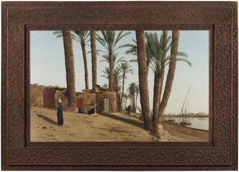 Lockwood de Forest (1850-1932), Bank of the Nile Opposite Cairo, Egypt, 1879-86