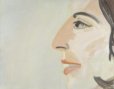 Alex Katz (b. 1927), Study for 'Smile Again', circa 1964