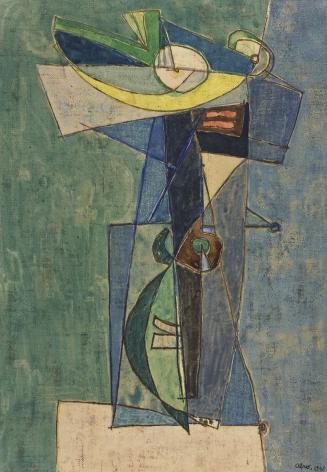 Afro Basaldella (1912-1976), Composition, 1948