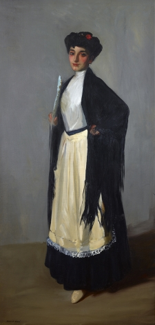 Robert Henri (1865-1929), Modiste (Spanish Girl, Madrid), 1906