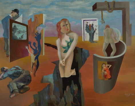 James Guy (1909-1983), Escape, 1938