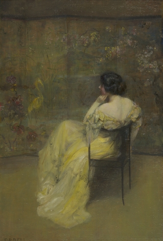 Edward August Bell (1862-1953), The Japanese Screen, 1912