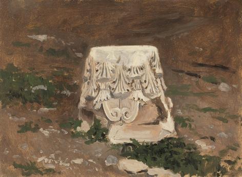 Lockwood de Forest (1850-1932), Column Base II, Greece