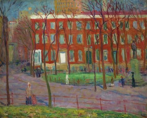 William Glackens (1870-1938), Washington Square, circa 1912