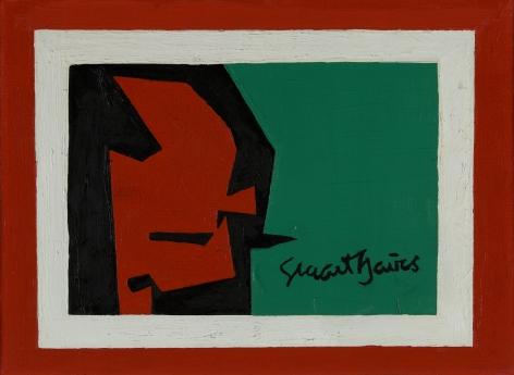 """Stuart Davis (1892-1964), Study for """"Pochade """"#2, 1958"""