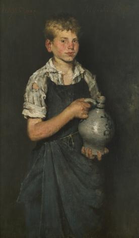 William Merritt Chase (1849-1916), Apprentice, 1875