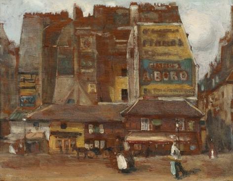 Alson Skinner Clark (1876-1949), Saint Andre des Arts, Paris, circa 1901-03