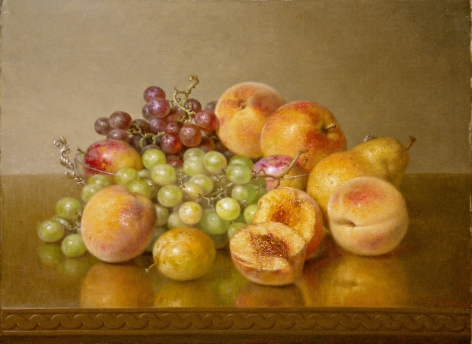 Robert Spear Dunning (1829-1905), Still Life with Fruit, 1901