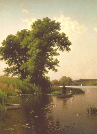 Alfred Thompson Bricher (1837-1908), Summmertime, Long Island, 1887