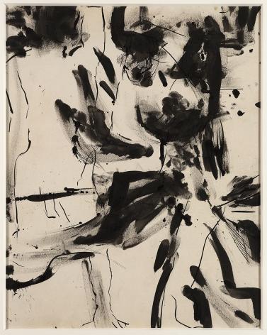 Grace Hartigan (1922-2008), Nude Male, 1952