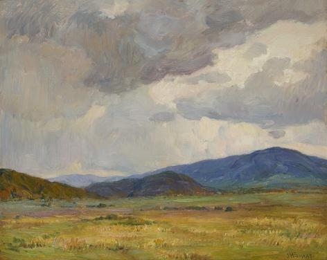 Joseph Henry Sharp (1859-1953), Storm Clouds, Taos Landscape