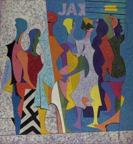 O. Louis Guglielmi (1906-1956), Rampart Street, 1950