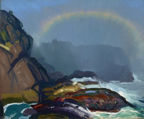 George Wesley Bellows (1882-1925), Fog Rainbow, 1913