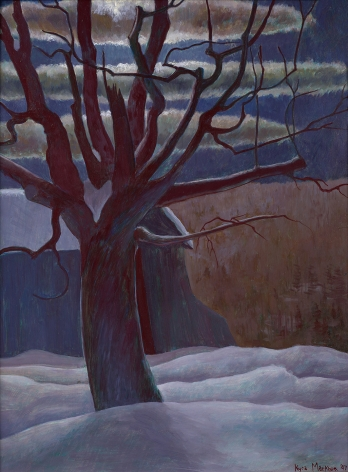 Kyra Markham (1891-1967), Winter Landscape, 1947