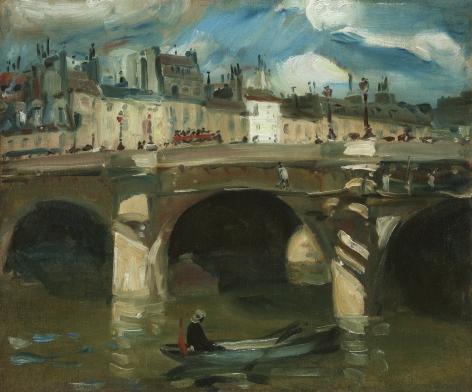 William James Glackens (1870-1938), The Seine, 1895