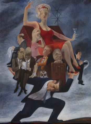 Bernard Perlin (1918-2014), The Divorce