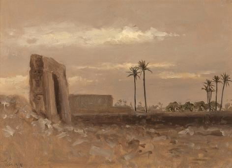 Lockwood de Forest (1850-1932), Ruins at Philae, Egypt, 1878