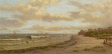 Frederick De Bourg Richards (1822-1903), Beach at Anglesea