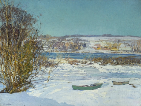 Edward Willis Redfield (1869-1965), Frozen Creek