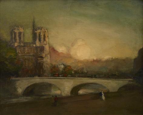 Robert Henri (1865–1929), Ile de la Cite, 1900