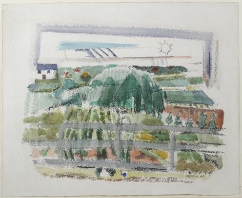 John Marin (1870-1953), Little Nursery, Rockleigh, New Jersey, 1925
