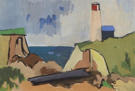 Herman Maril (1908-1986), Highland Light, 1952
