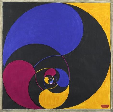 Benny Collin (1896-1980), Opus 672-C, circa 1955-1970